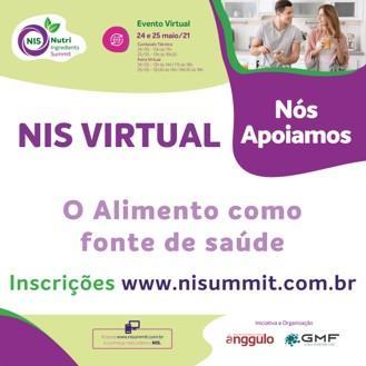 O evento NIS Virtual acontece nos dias 24 e 25 de maio