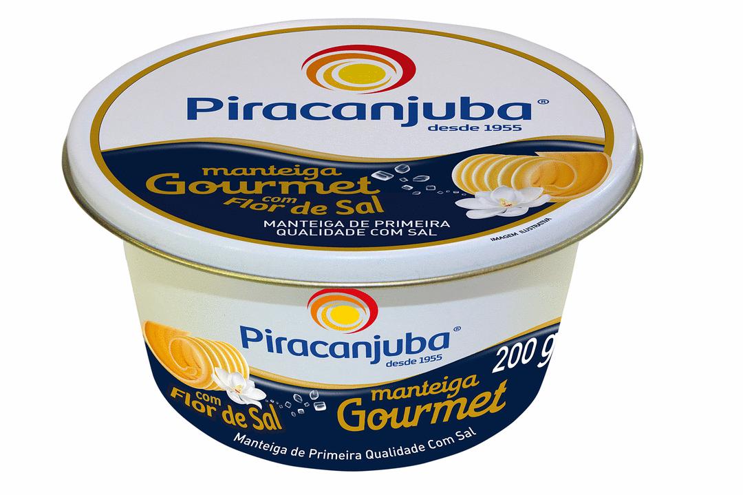 Piracanjuba lança Manteiga Gourmet com Flor de Sal