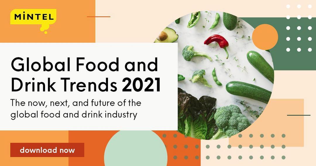 Relatório Global de Tendências Food and Drinks - Mintel 2021