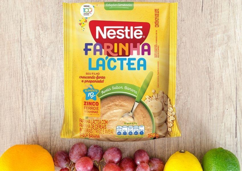 Nestlé lança Farinha Láctea sabor Banana