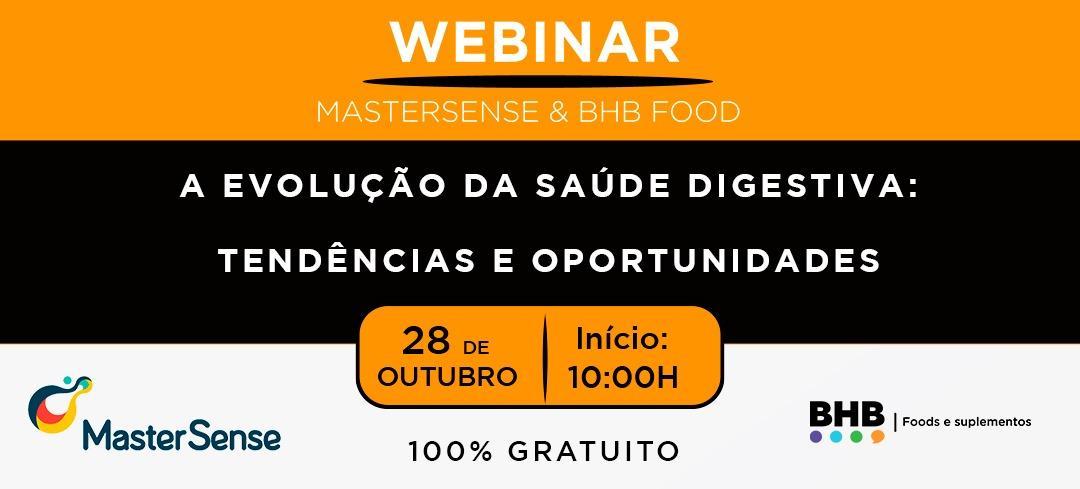WEBINAR MasterSense & BHB Food 100% Gratuito