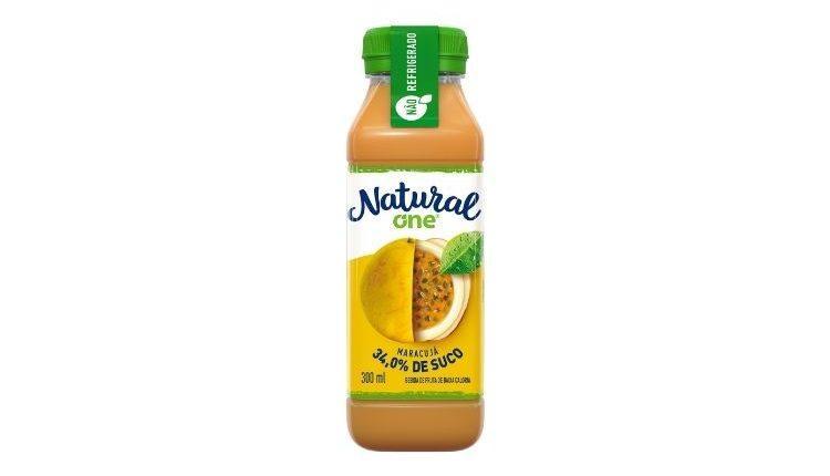 Natural One lança suco de maracujá 100% natural