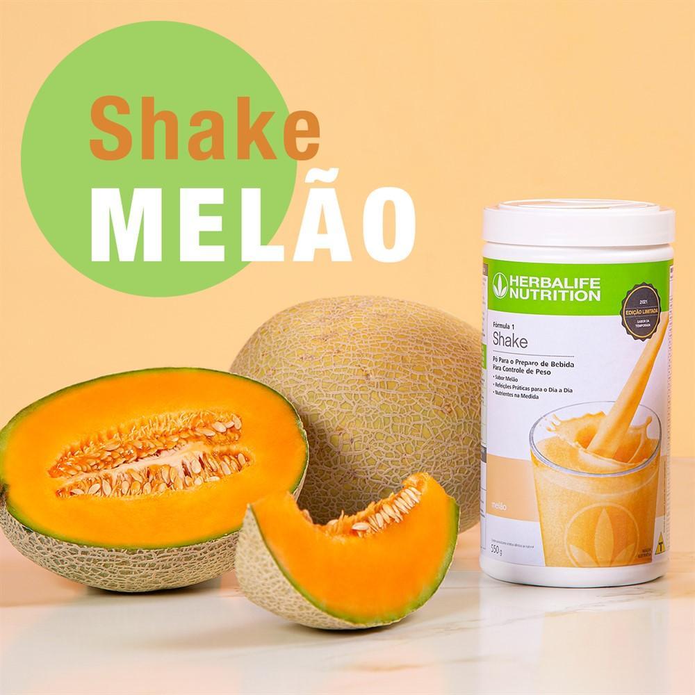 Herbalife Nutrition lança Shake sabor Melão sem glúten