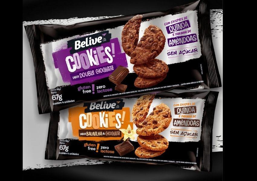 BeLive lança nova versão de cookies sem açúcar