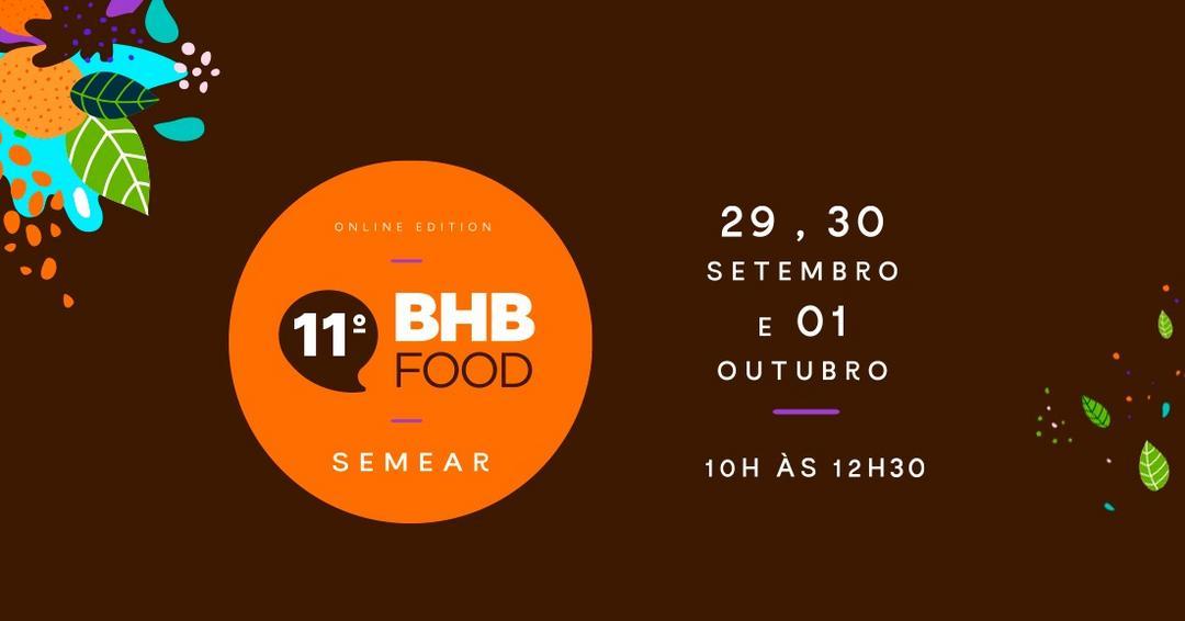 Participe da 11ª edição do EVENTO BHB FOOD