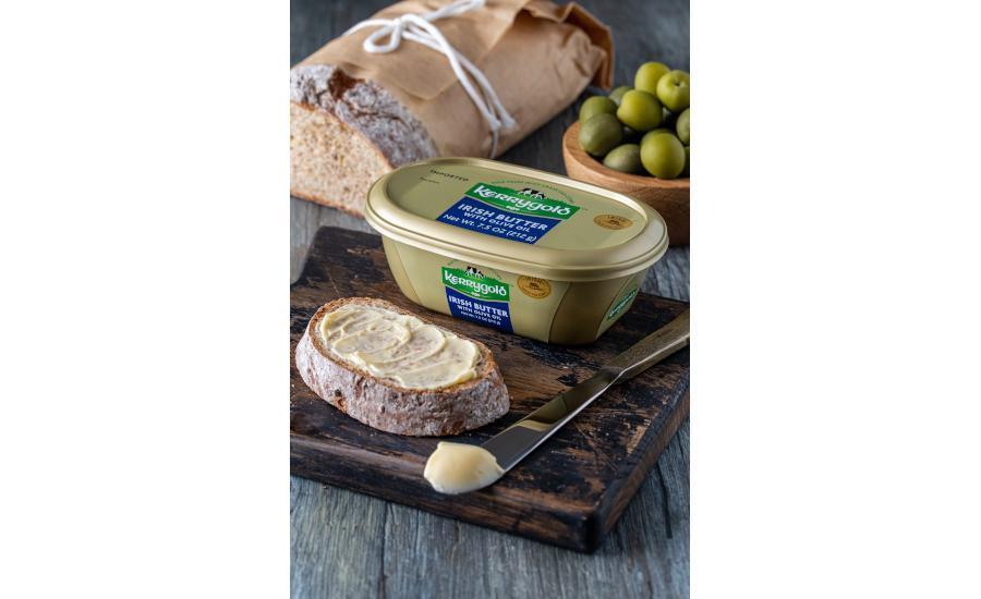 Nova manteiga irlandesa com azeite de oliva
