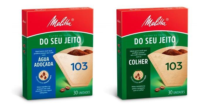 Melitta desenvolve novos filtros de café