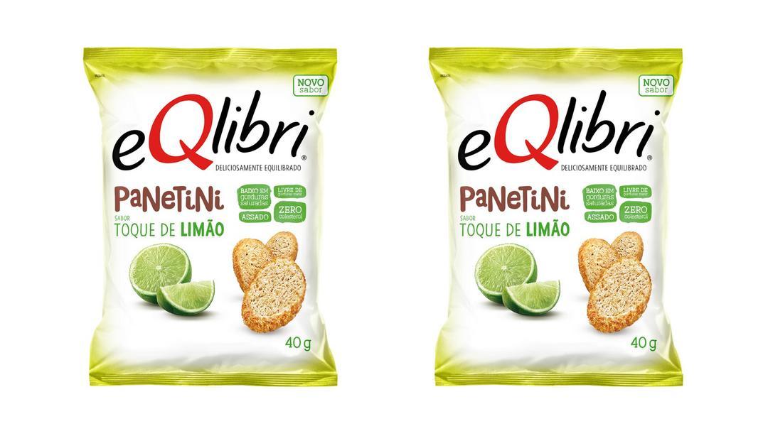 EQlibri expande linha de snacks lançando Panetini sabor Toque de Limão