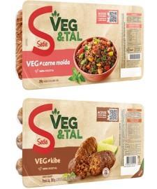 Sadia amplia linha de produtos da Veg&Tal