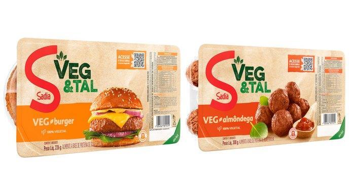 Sadia reforça linha Veg&Tal com lançamentos