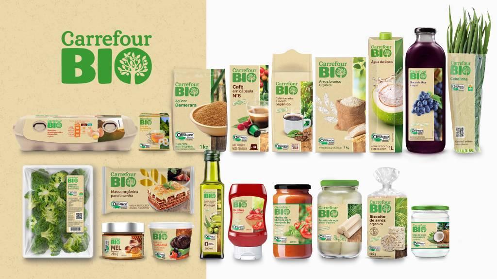 Carrefour lança linha de produtos orgânicos
