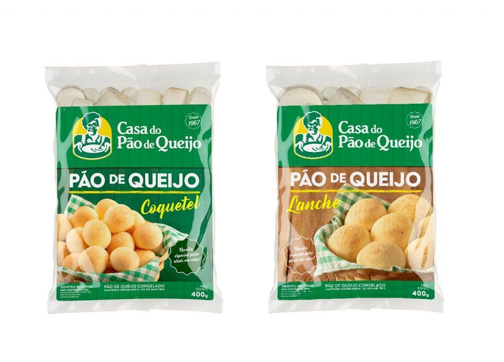 Produtos da Casa do Pão de Queijo chegam ao varejo alimentar