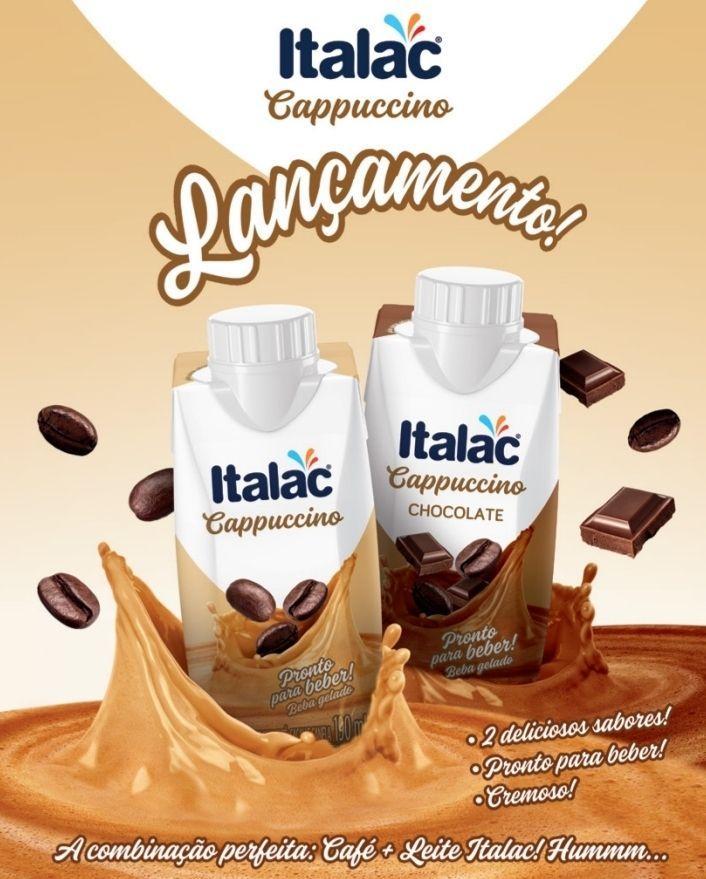 Italac lança Cappuccino pronto para beber
