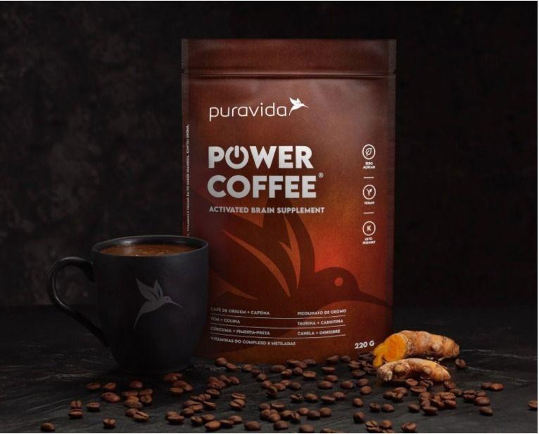 Pura Vida lança Power Coffe
