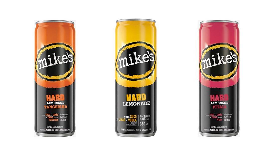 Ambev lança dois sabores da bebida mista  Mike´s Hard Lemonade