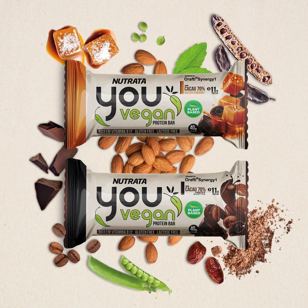 Nutrata lança barra de proteína 100% vegana