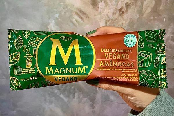 Kibon vai trazer Magnum Vegano para o Brasil
