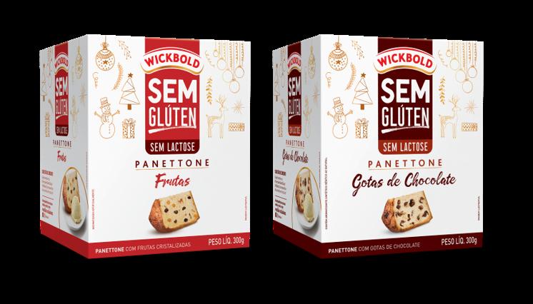 Wickbold lança novos sabores de panettone sem glúten e sem lactose