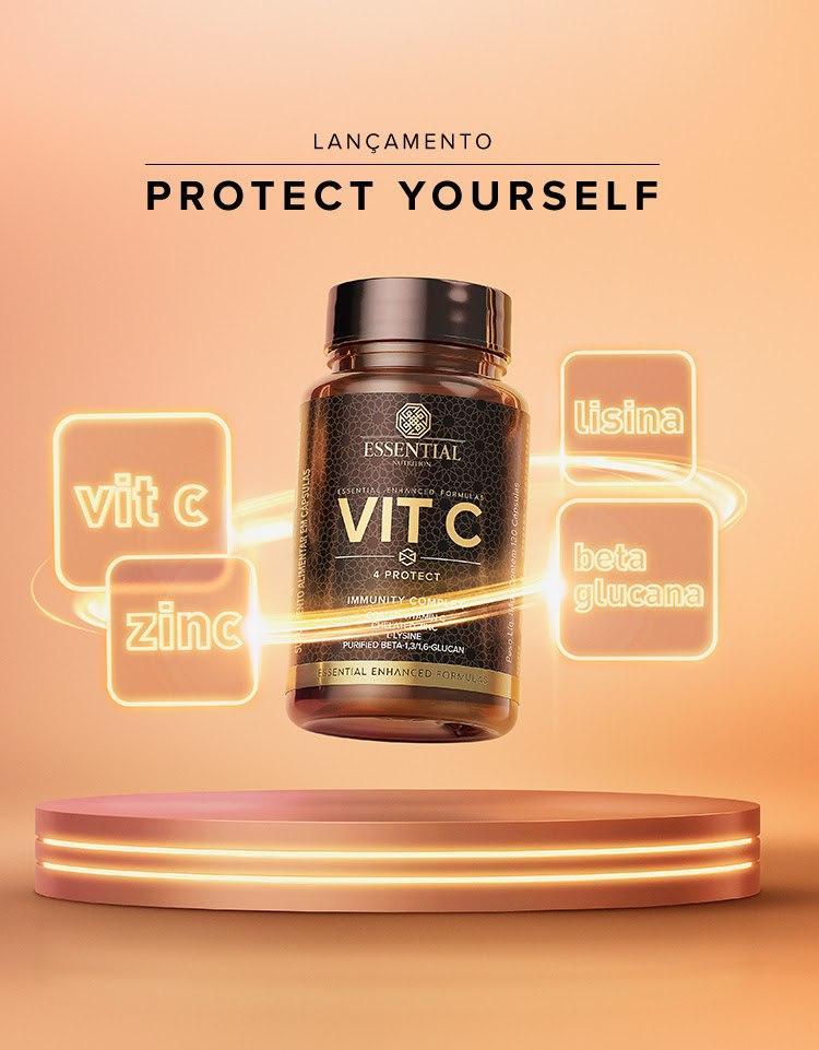 Essential Nutrition lança Vit C 4 protect