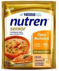 Nutren Senior da Nestlé ganha dois sabores de sopas