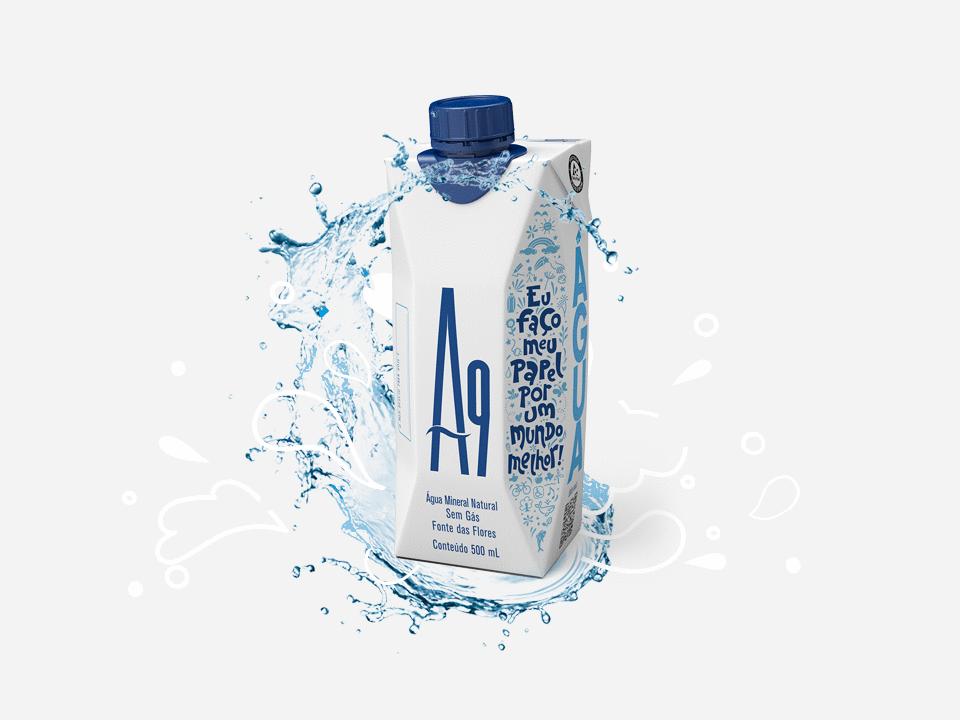 Bebidas Poty lança água mineral em caixinha