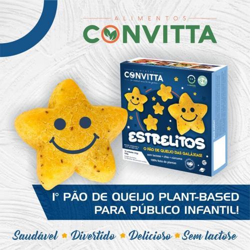 Alimentos Convitta lança pão de queijo à base de plantas
