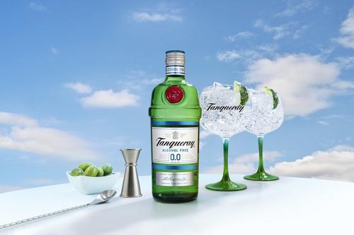 INTERNACIONAL: Diageo lança Tanqueray 0,0% álcool