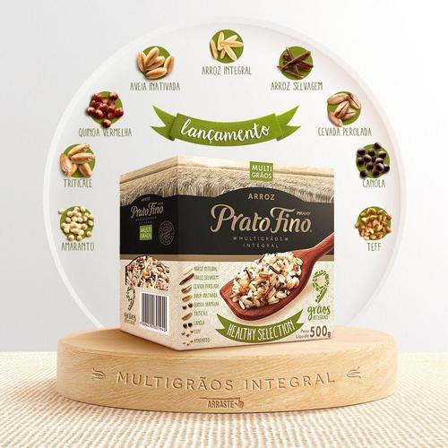 Prato Fino lança arroz multigrãos integral