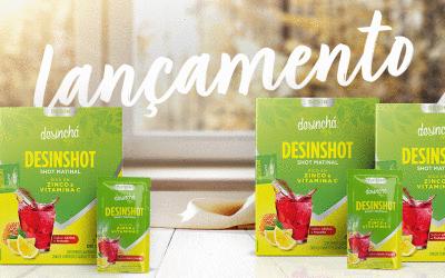 Desinchá lança novo produto: desinshot