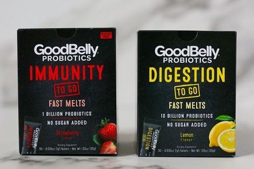 GoodBelly lança probióticos que