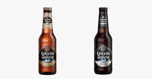 Estrella Galicia lança duas cervejas sem álcool