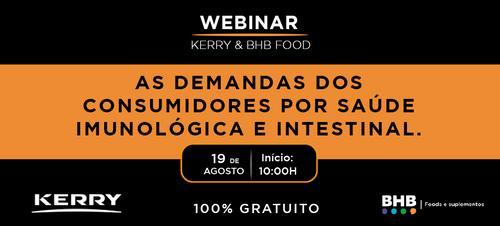 WEBINAR Kerry & BHB FOOD 100% Gratuito