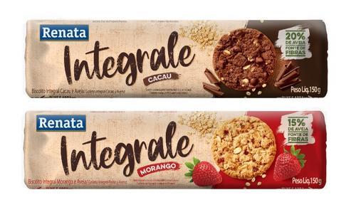 Renata lança linha de Biscoitos Integrale