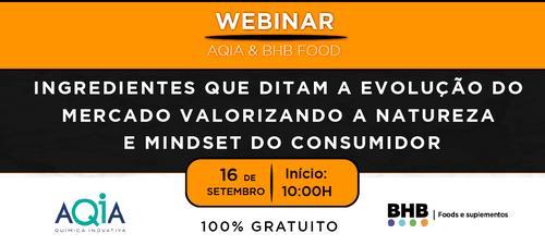 WEBINAR AQIA & BHB FOOD 100% Gratuito