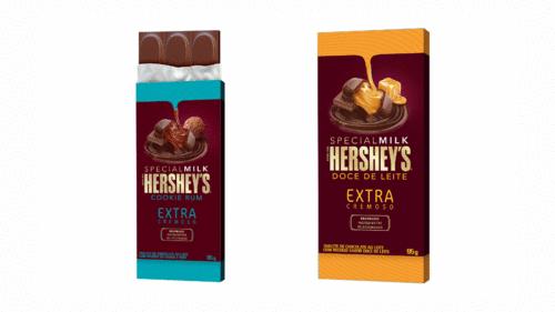 Hershey's lança sua primeira barra de chocolate recheada