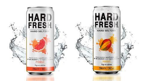 Nova bebida Hard Seltzer com baixo teor de calorias