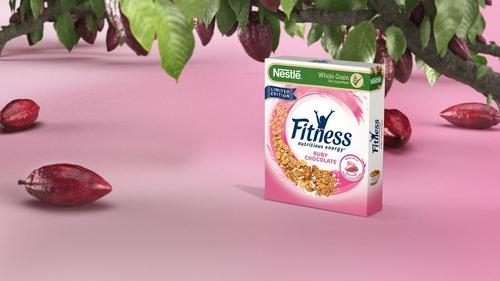 INTERNACIONAL: Nestlé lança cereal  FITNESS® Ruby Chocolate