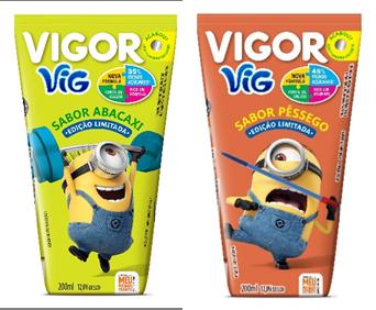 Vigor reduz açúcar e amplia portfólio de produtos infantis