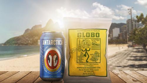 Ação da marca Antarctica terá venda de Biscoitos Globo transferida para ambulantes