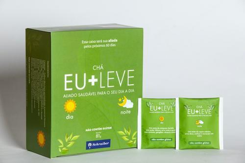 Schraiber lança marca de chá Eu+Leve