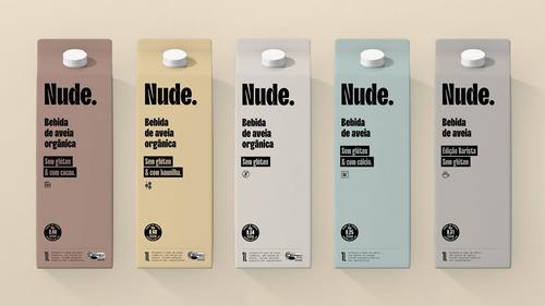 Nova startup Nude - Plant Based Foods lança leites vegetais