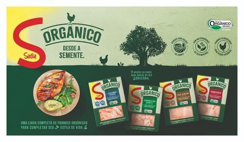 Sadia lança linha de cortes de frango orgânico