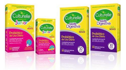Marca de probióticos Culturelle chega ao Brasil