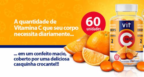 Flofarma lança Vitamina C em drops mastigável