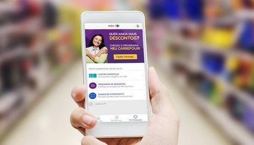 Carrefour tem alta de 202,4% no e-commerce alimentar