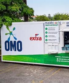 Extra e Unilever instalam estações de reciclagem