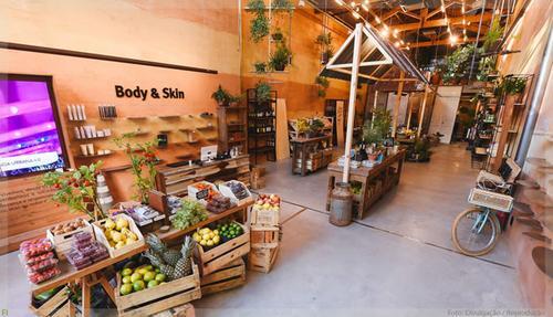 Grupo Laces transforma salão de beleza em Mercado de Orgânicos