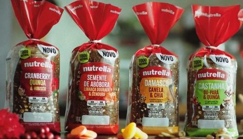Nutrella lança primeira linha com pães 360 grãos