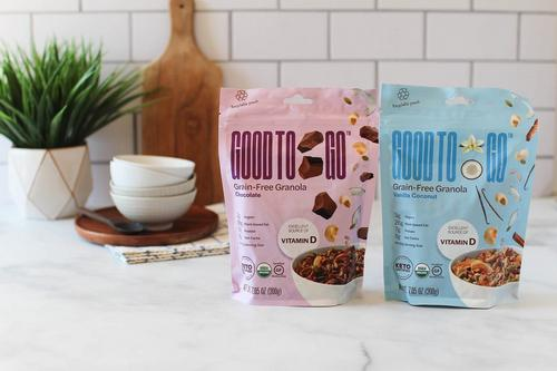 Good to Go apresenta sua granola sem grãos