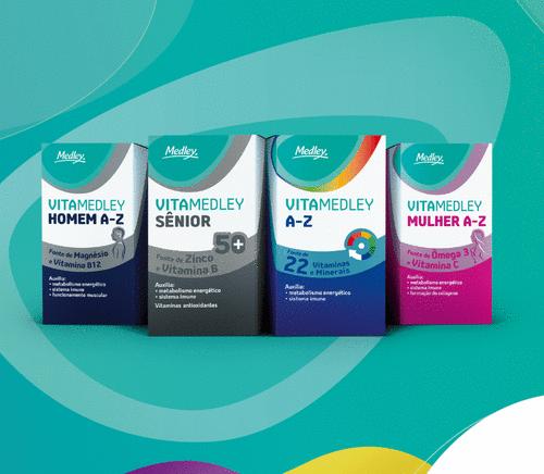 Medley lança sua primeira linha de suplementos vitamínicos